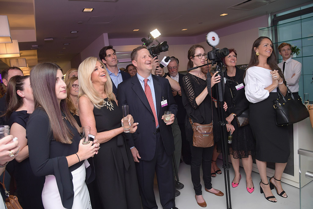 The Qurate Retail celebration, the evening before the bell ringing