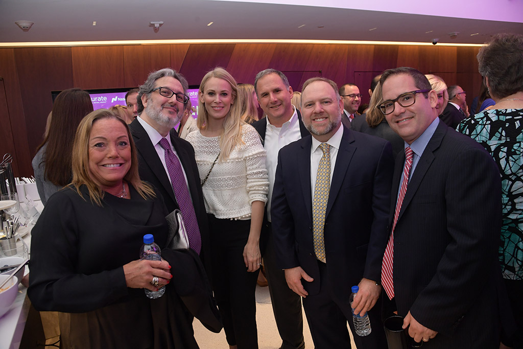 Qurate Retail's Beth Rubino, Howard Schiller, Naomi Jacobs, Mike Stein, Dan Feiner and Justin Smith