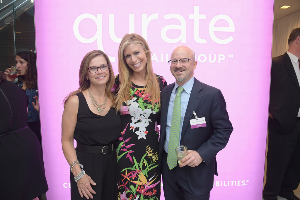 Mary Campbell (Qurate Retail Group), Jill Martin  (G.I.L.I) and Steve Hofmann (QVC US)
