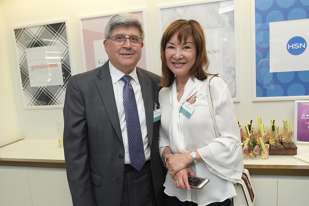Michael Glass (Meryl Diamond LTD), Elaine Lai (Lai Apparel)