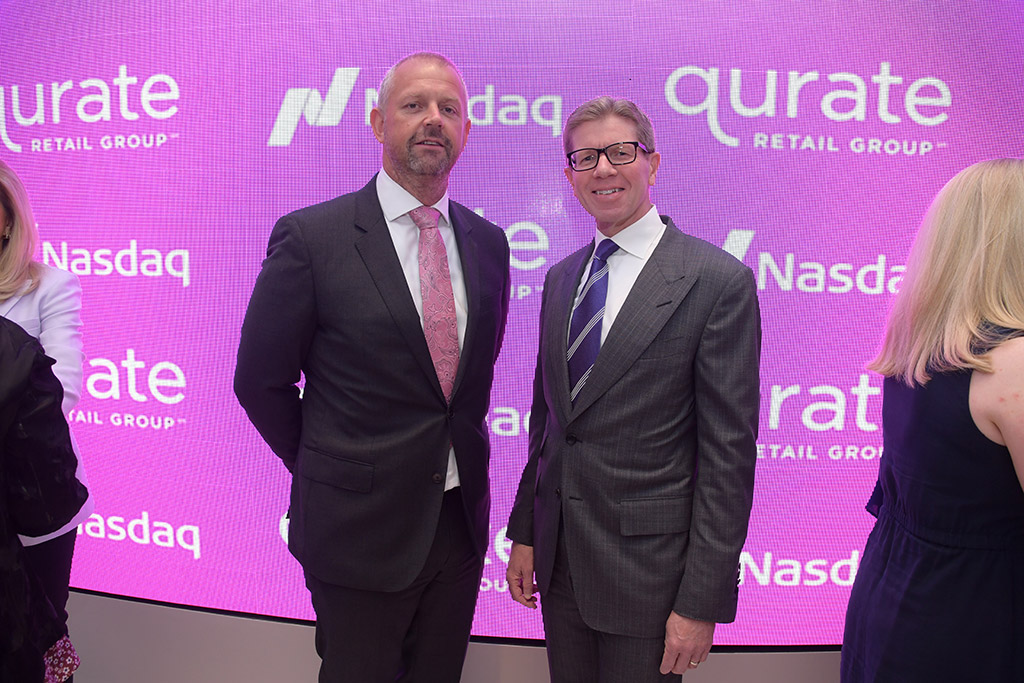 Mike Fitzharris (HSN) and Mike George (Qurate Retail CEO)