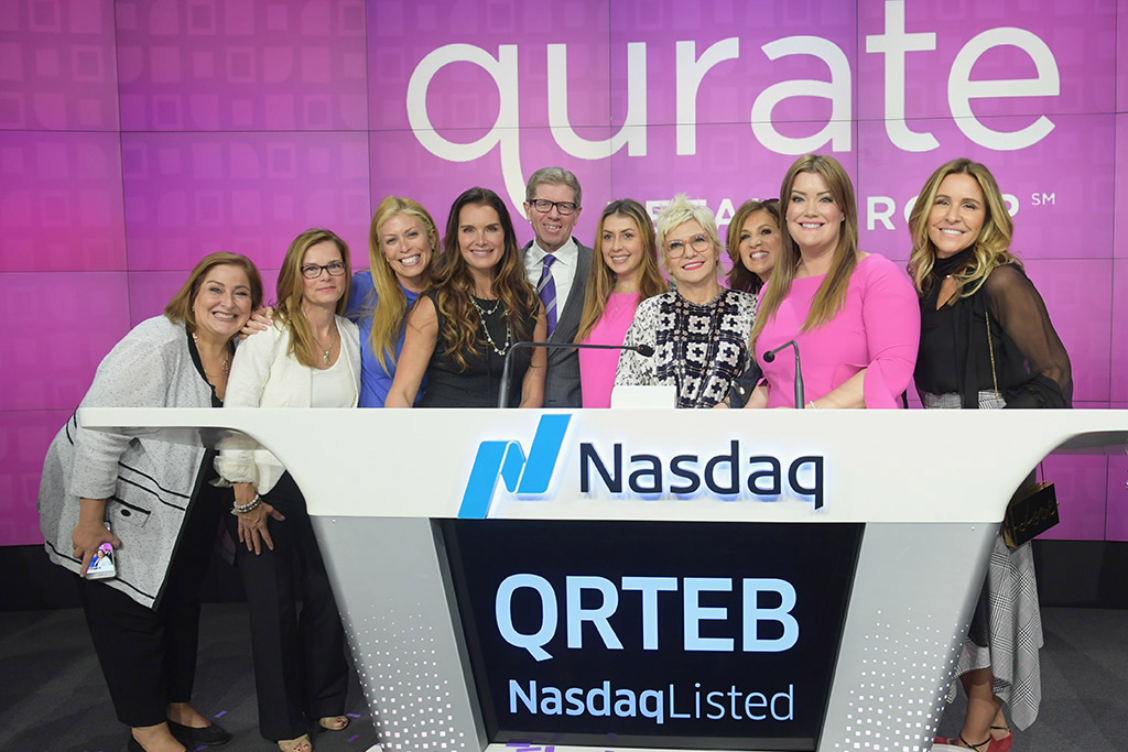 Qurate Retail vendors with Mike George and Mary Campbell (second from left)