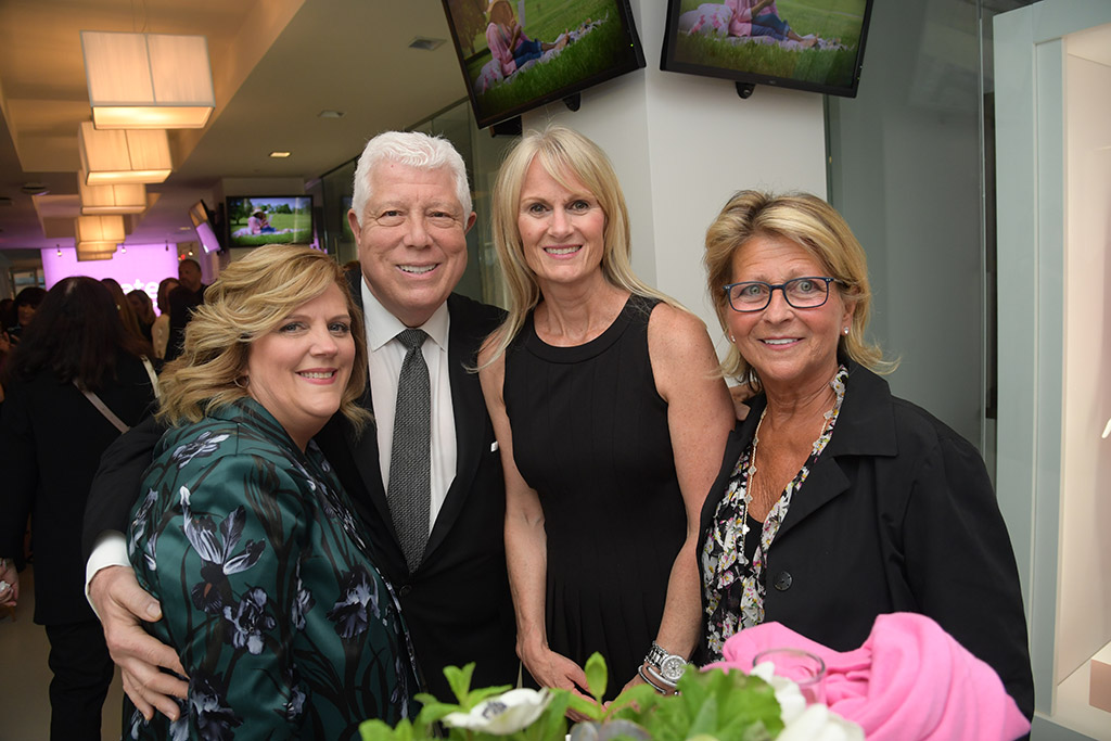Rachel Ungaro (Qurate Retail), Dennis Basso (Dennis Basso), Lisa Morrisey (Qurate Retail), Meryl Diamond (Meryl Diamond LTD)