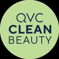 QVC Clean Beauty logo